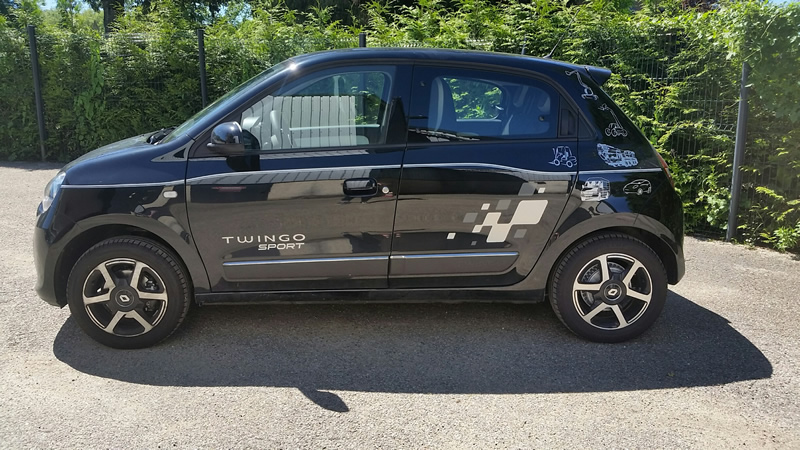 location twingo sport